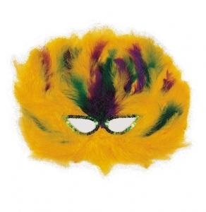 Mascara de Marabu Amarilla
