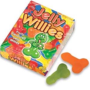 Caramelos en forma de pene Gominola