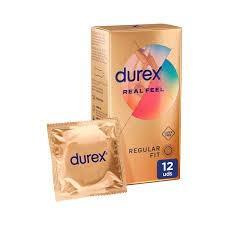 Durex Real Feel (Sin látex) 12 uds.