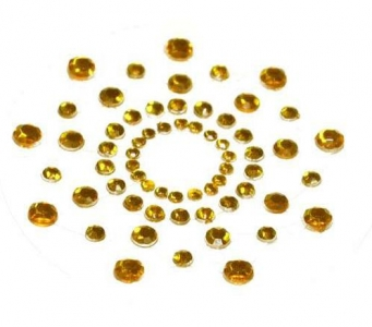 Cubrepezones mimi oro