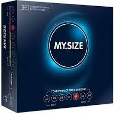 Preservativos My.Size 60 en caja de 36 uds.