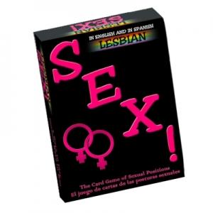 Juego de Cartas Lesbico Sex