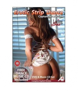 DVD Erotic Strip Dance