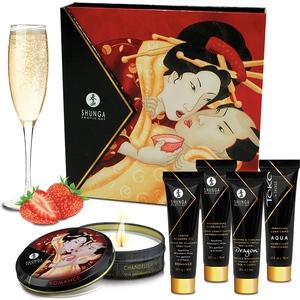 Kit fin de semana Geisha's Secret - Fresas&Cava