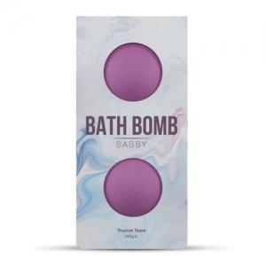Dona Bath Bomb Sassy (Una mezcla de mandarina y flor de jazmín)