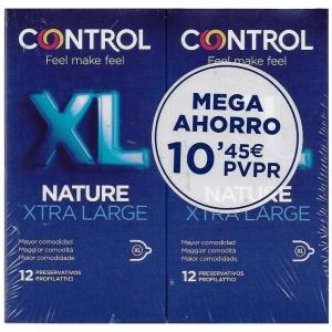 Preservativos Control Nature XL 12 + 12